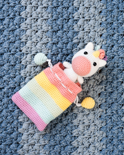 tiny rabbit hole unicorn wonderland colourful rainbow equestrian horse amigurumi crochet singapore workshop chinatown cute kawaii handmade crochet safety eyes stuffing crochet hook tulip pouch drawstring practical bag