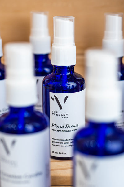 Yoga Mat Cleaning Spray by The Verdant Lab