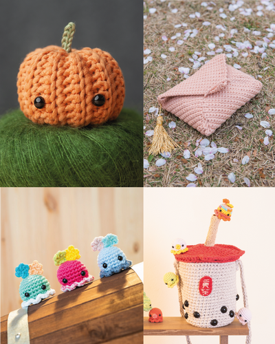 tiny rabbit hole cactus succulent green fingers octopus sea creature marine life colourful rainbow unicorn basic beginner amigurumi crochet class singapore workshop online chinatown cute kawaii skill washi bag lifestyle practical shopping ladies casual pumpkin sakura clutch food bubble tea bbt