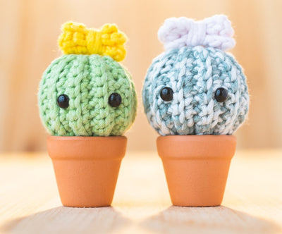 tiny rabbit hole cactus succulent green fingers octopus sea creature marine life colourful rainbow unicorn basic beginner amigurumi crochet class singapore workshop online chinatown cute kawaii skill