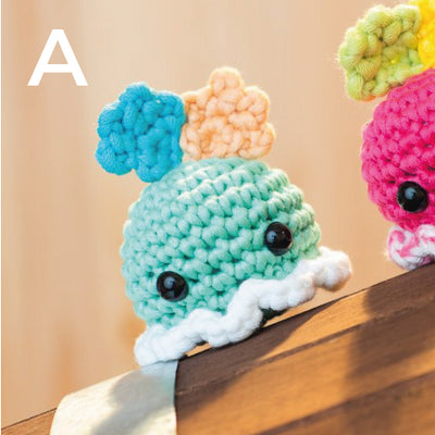 Dumbo Octopus Amigurumi Pattern & Kit