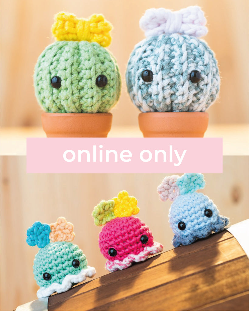 [Online Class] Level 1-2: Intro to Crochet & Amigurumi
