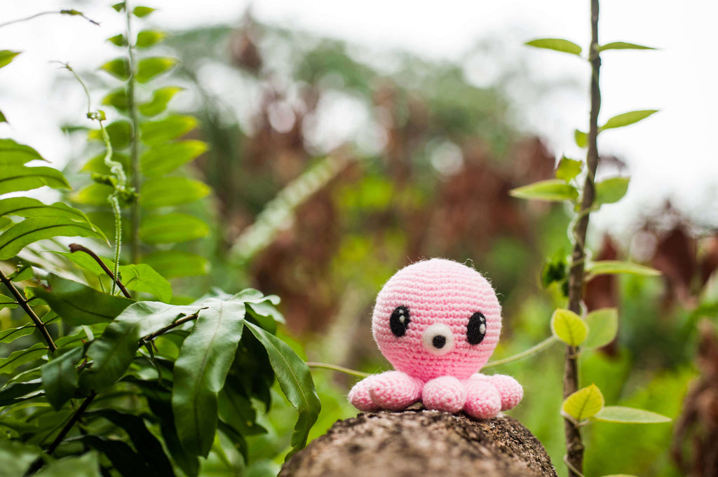 Pink Octopus from Legend of the Blue Sea Amigurumi Pattern & Kit