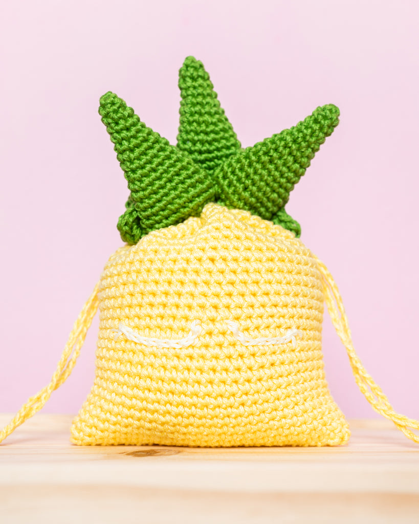 Level 1: Pineapple Drawstring and Ang Bao Pouch Workshop