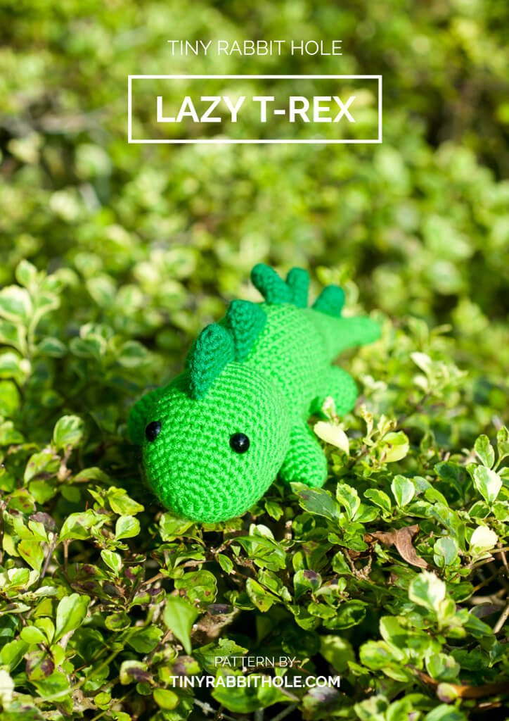 tiny rabbit hole - crochet your favourite amigurumi bootcamp singapore Workshop lazy trex dinosaurs