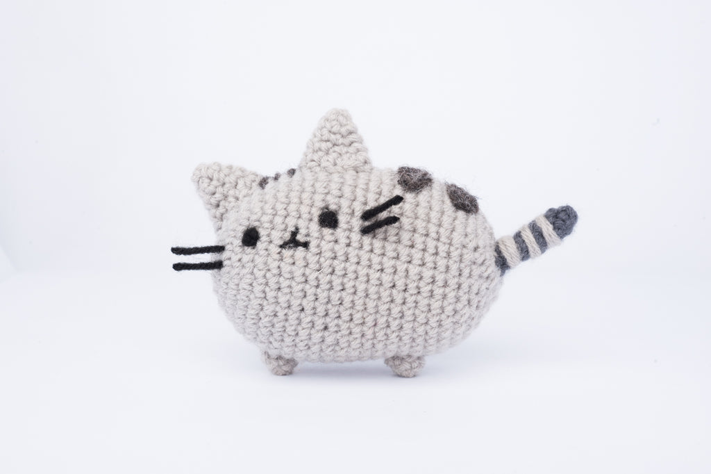 Pusheen from Facebook Messenger Amigurumi Pattern & Kit