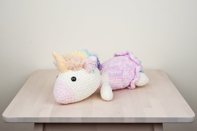 Rainbow Unicorn Bolster