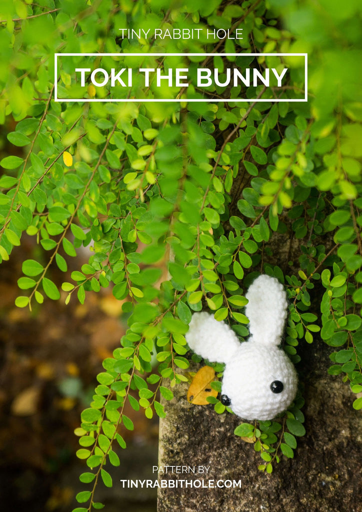 tiny rabbit hole - crochet your favourite amigurumi bootcamp singapore Workshop toki the rabbit