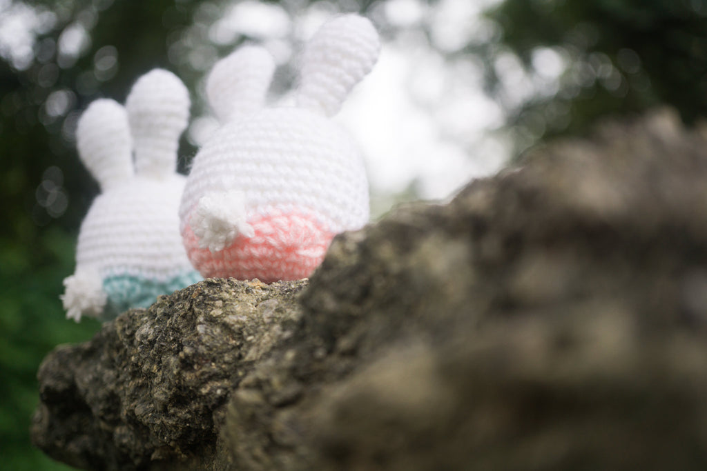 Easter Bunnies Lover Amigurumi Pattern & Kit