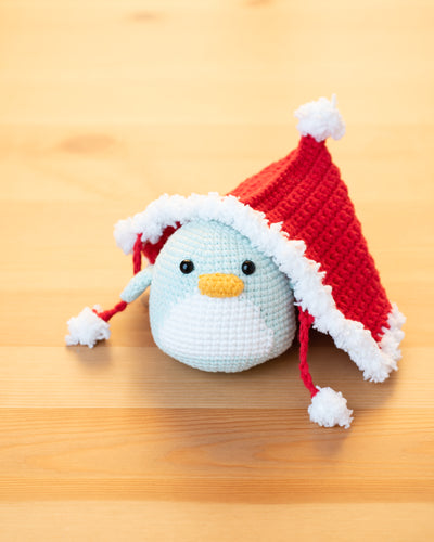 Holy Xmas Penguin Amigurumi Pattern & Kit