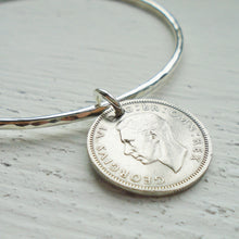 Load image into Gallery viewer, 1942-1948 Sixpence Infinity Bracelet