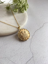 Load image into Gallery viewer, Threepence Necklace Pendant