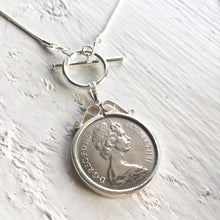 Load image into Gallery viewer, 1971 Five Pence Necklace - Toggle