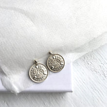 Load image into Gallery viewer, Tiny Acorns - Threepence Earrings