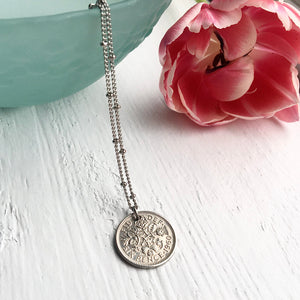 Satellite Sixpence Necklace - 1953-1967 - Steel