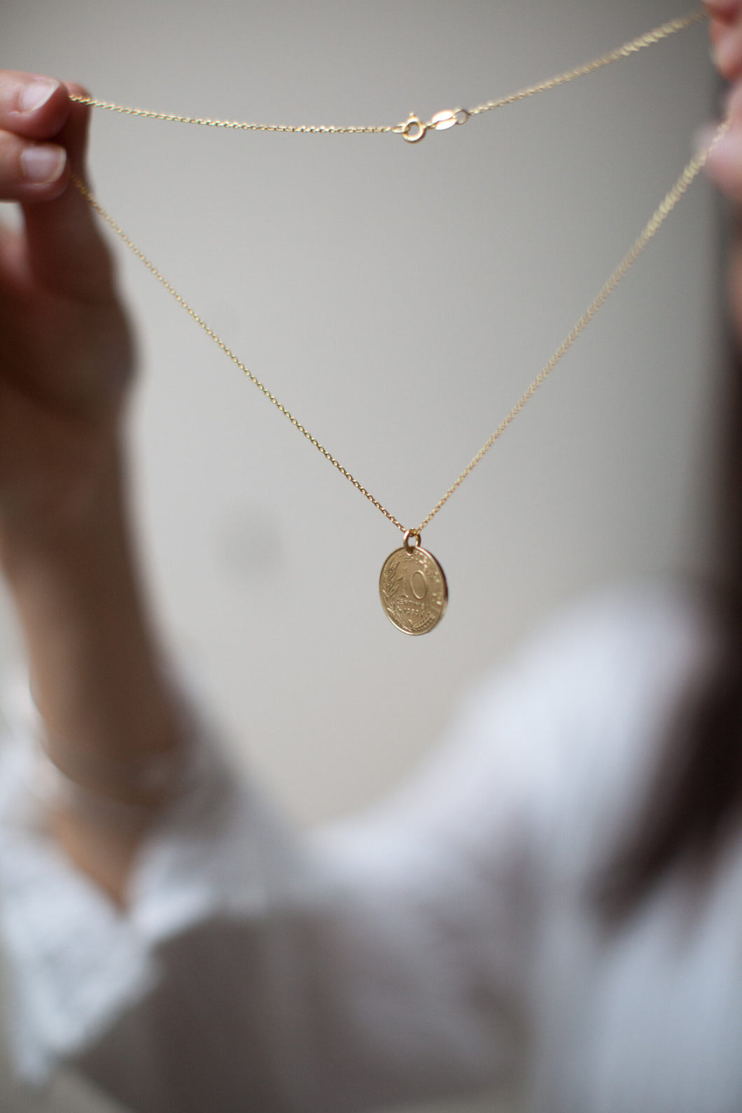 1971 - French Gold Necklace - 10c