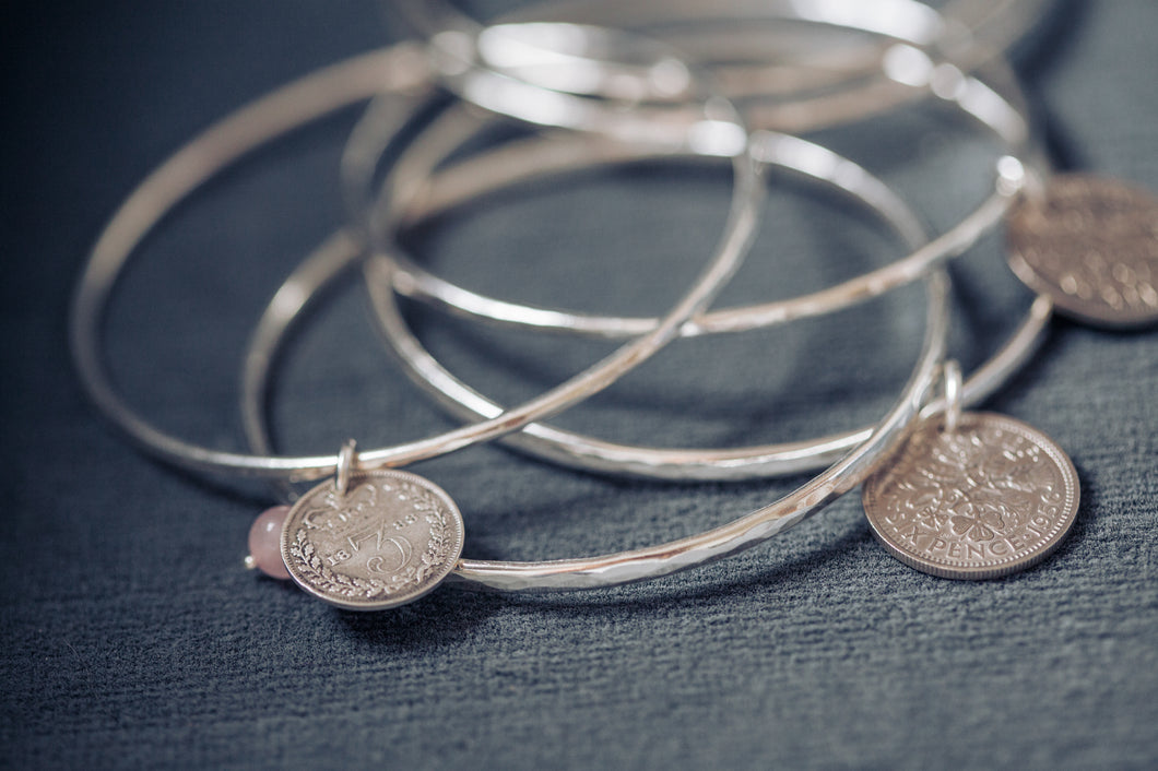 Coin bangle - coin jewellery - by Prenoa