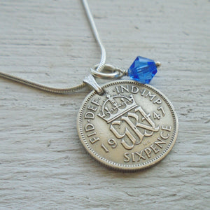 Sixpence Anklet for Your Shoe