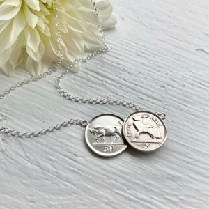 Irish Double Necklace - Bull & Hare
