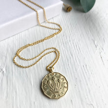 Load image into Gallery viewer, 1941 Threepence - Gold Coin Necklace