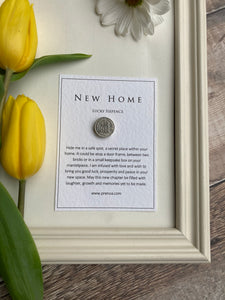 New Home Sixpence - GR Scroll