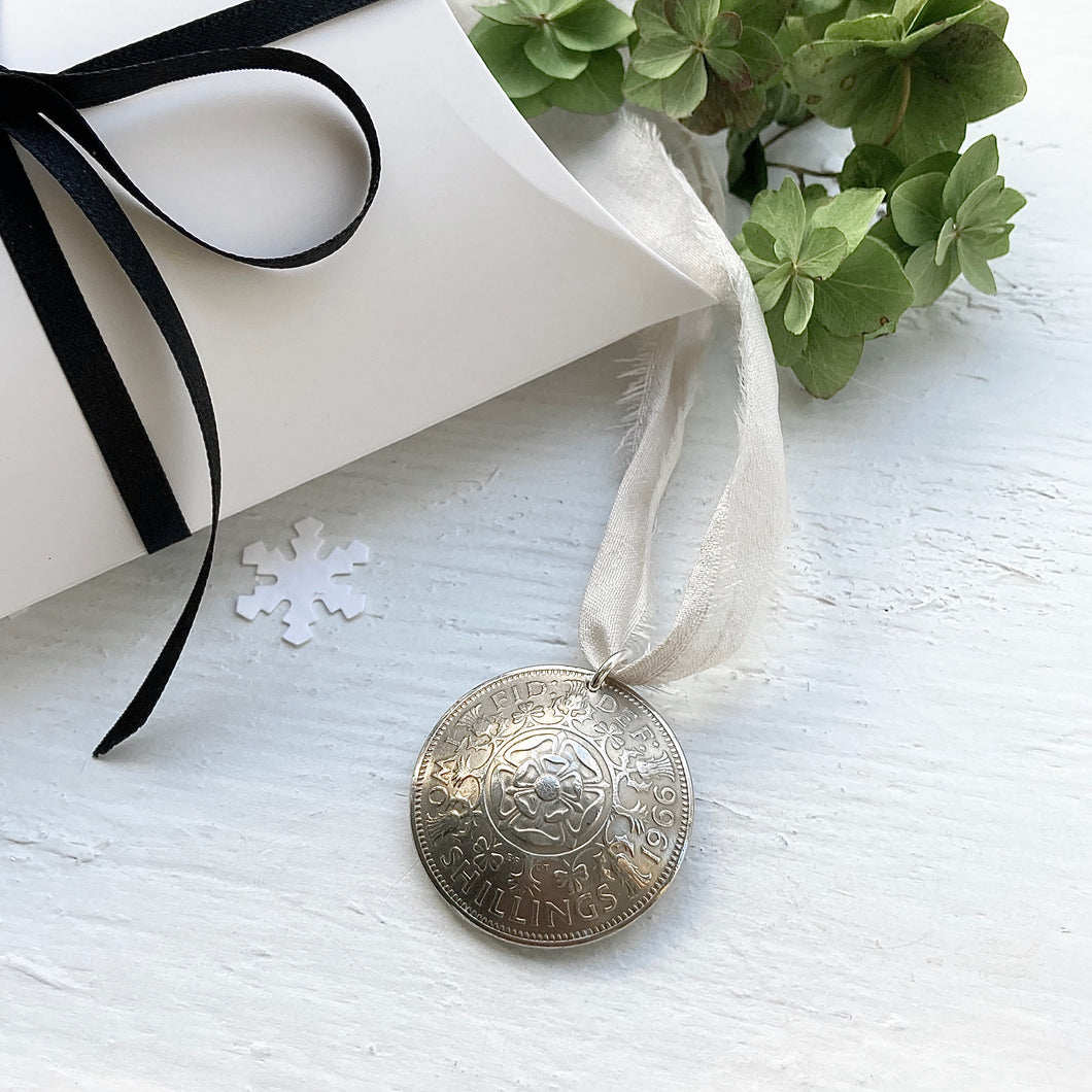 Christmas Bauble - Two Shillings