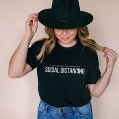If you can read this... Social Distancing T-Shirt - The Creative Gift Shop