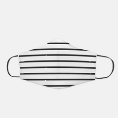 Ear Loop Stripes Face Mask - The Creative Gift Shop