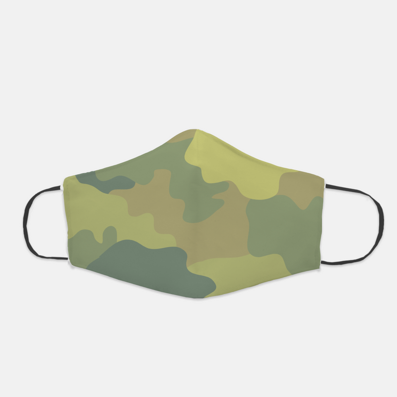 Ear Loop Light Camouflage Face Mask - The Creative Gift Shop