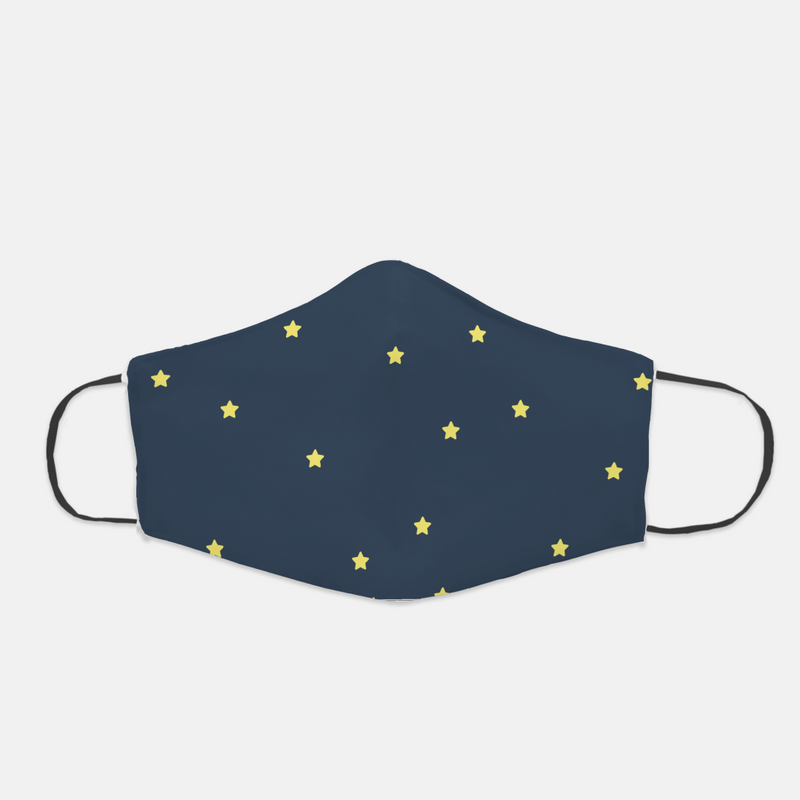 Ear Loop Stars Face Mask - The Creative Gift Shop