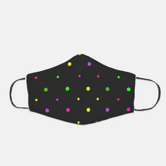 Ear Loop Polka Dot Face Mask - The Creative Gift Shop