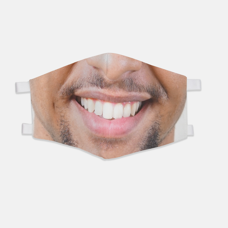 Personalized Face Mask (Straps) - The Creative Gift Shop