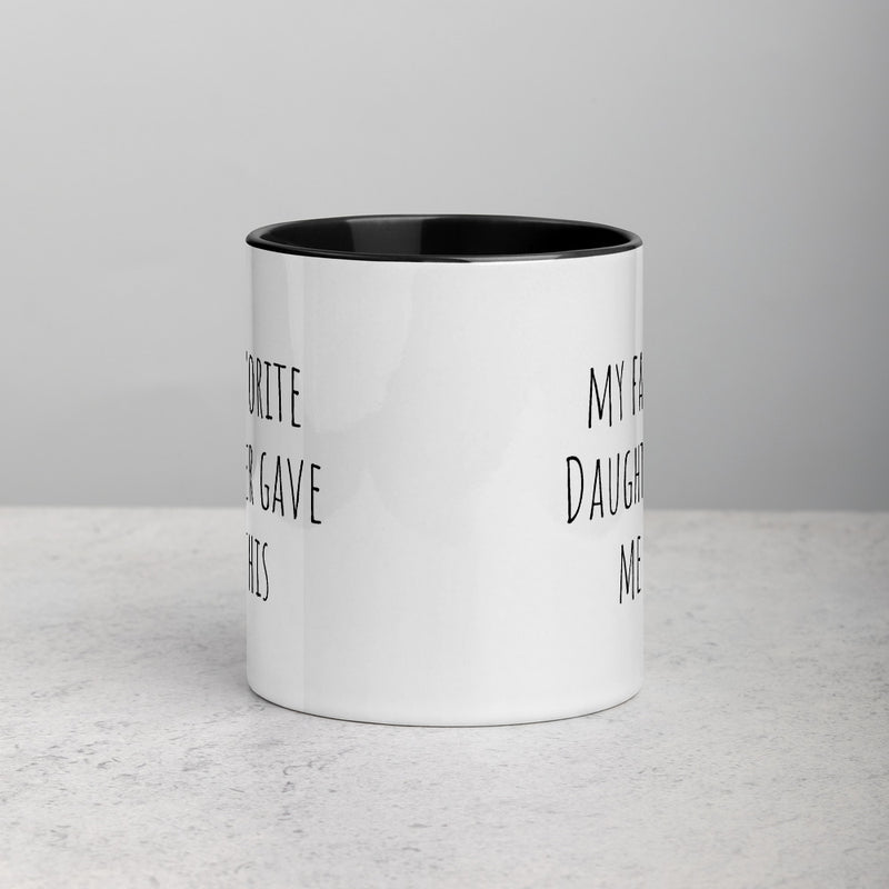 Favorite Daughter Parent Mug - The Creative Gift Shop