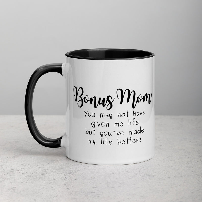 Bonus Mom Mug | Step Mom Appreciation | Funny Step Parent Gift - The Creative Gift Shop