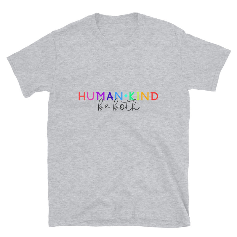 HumanKind | Be Both | Rainbow T-Shirt - The Creative Gift Shop