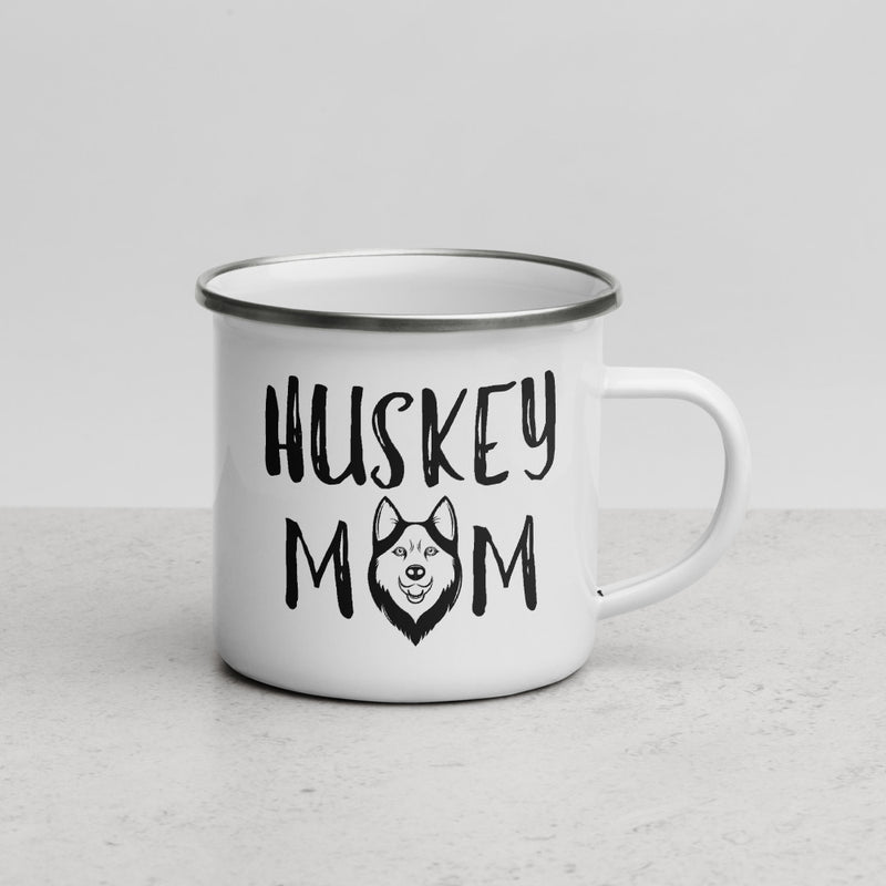 Husky Mom | Camper Enamel Mug - The Creative Gift Shop
