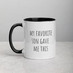 Favorite Son Parent Mug - The Creative Gift Shop