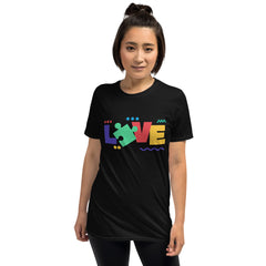 Love Autism Short-Sleeve Unisex T-Shirt - The Creative Gift Shop