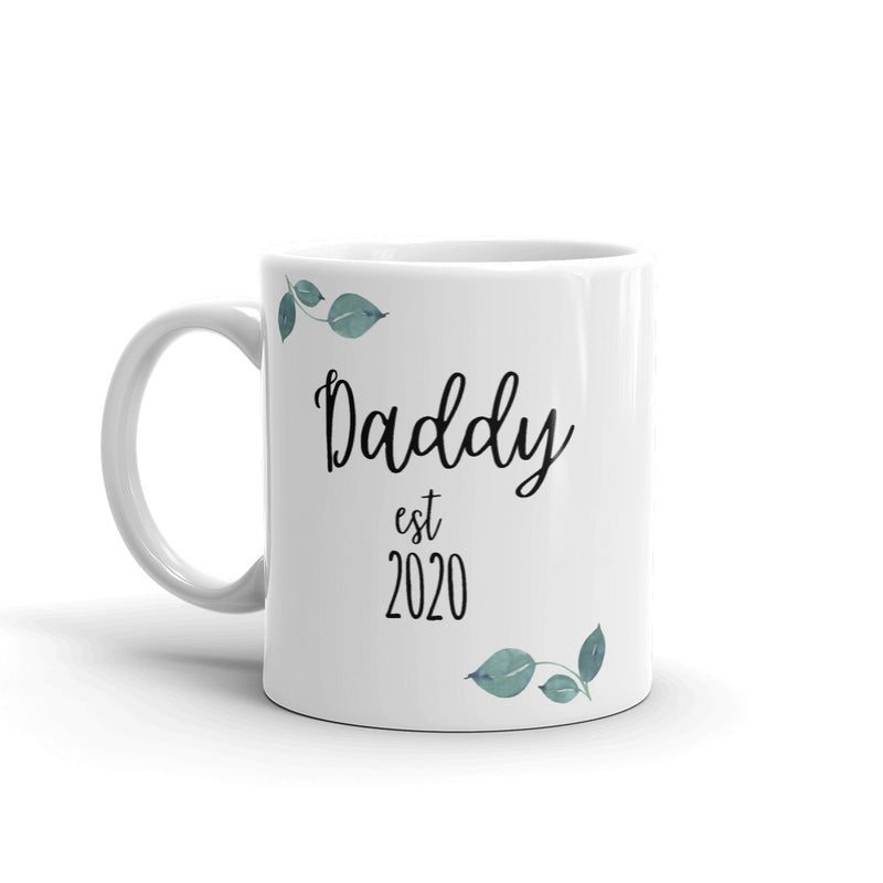 Daddy Est 2020 Mug - The Creative Gift Shop