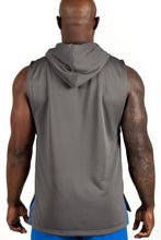 Load image into Gallery viewer, Men's Sleeveless Hoodie, Grey