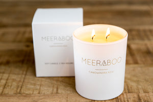 Unscented Boxed Soy Candles