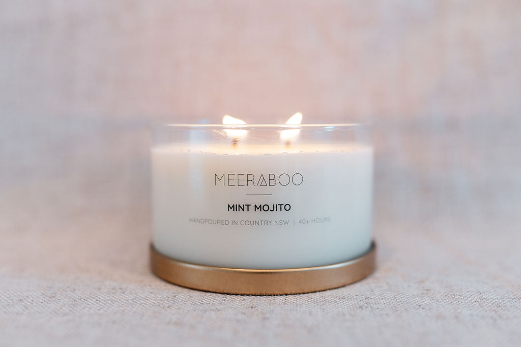Mint Mojito Gold Lid Soy Candle
