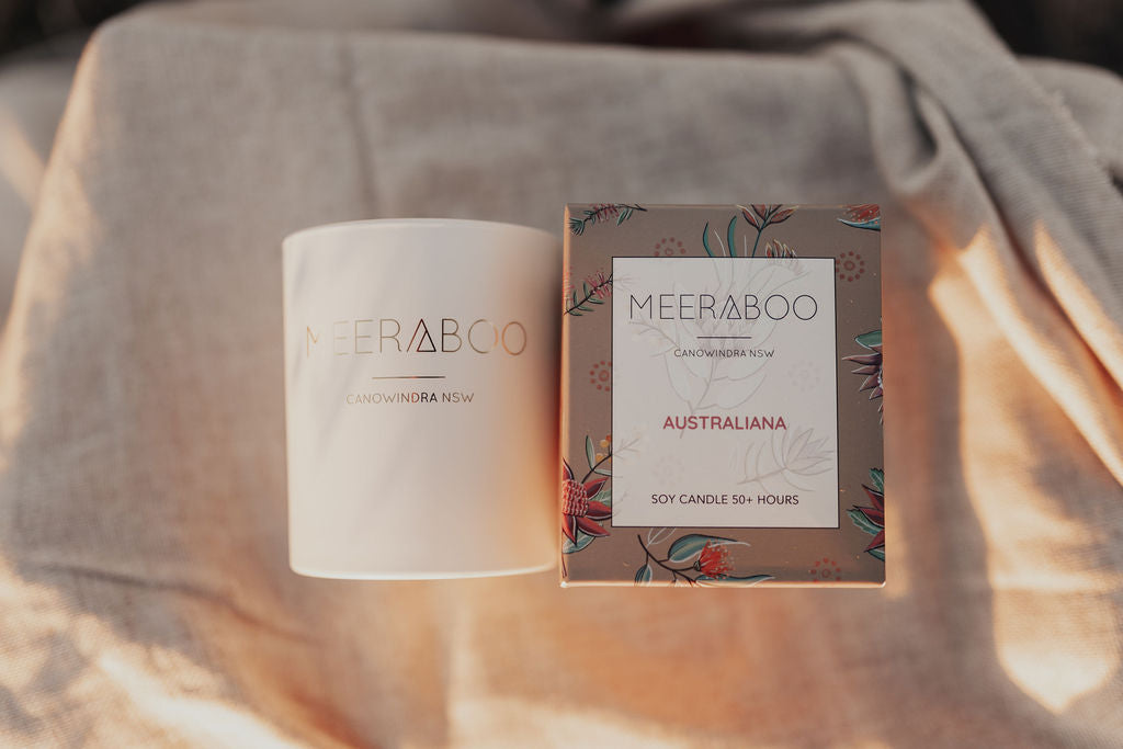 Australiana Boxed Soy Candle