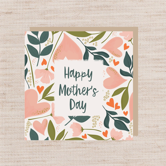 Mother's Day Card + Gift Wrapping
