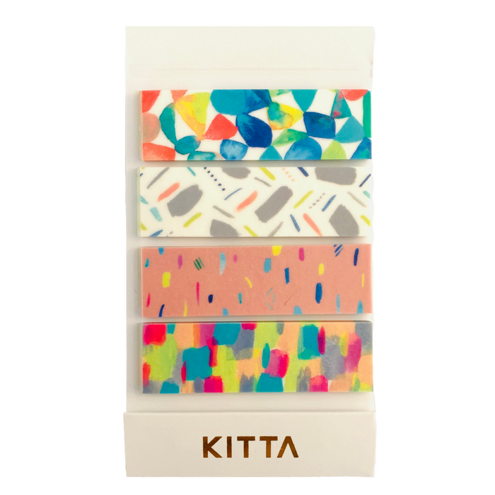 KITTA | Prism Washi Tape | Script + Sea