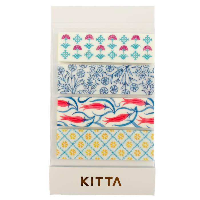 KITTA | Arabesque Karakusa Washi Tape | Script + Sea
