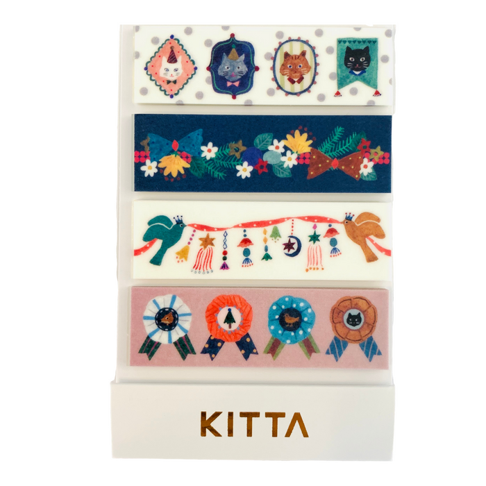 KITTA | Decoration Washi Tape | Script + Sea