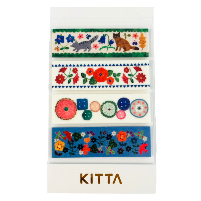 KITTA | Hobby Washi Tape | Script + Sea