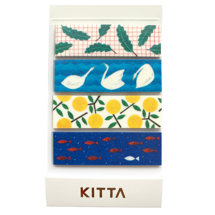 KITTA | Kesiki Scenery Washi Tape | Script + Sea