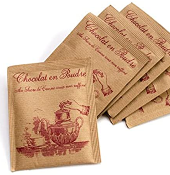 Les Confitures a l'Ancienne French Hot Chocolate Packets